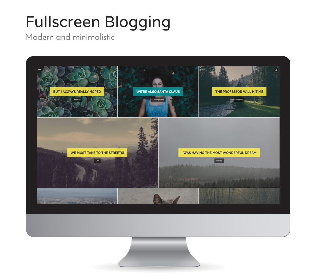 Wheats - WordPress easy blogging theme